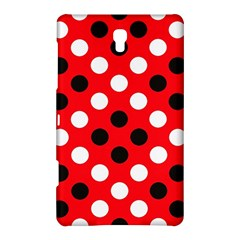 Red & Black Polka Dot Pattern Samsung Galaxy Tab S (8.4 ) Hardshell Case