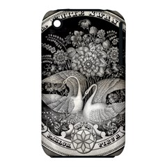 Swans Floral Pattern Vintage iPhone 3S/3GS