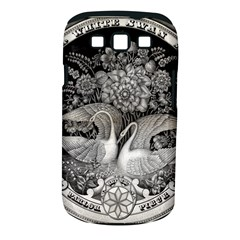 Swans Floral Pattern Vintage Samsung Galaxy S III Classic Hardshell Case (PC+Silicone)