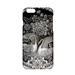 Swans Floral Pattern Vintage Apple iPhone 6/6S Hardshell Case