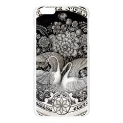Swans Floral Pattern Vintage Apple Seamless iPhone 6 Plus/6S Plus Case (Transparent)