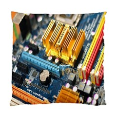 Technology Computer Chips Gigabyte Standard Cushion Case (One Side)