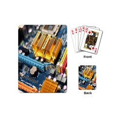 Technology Computer Chips Gigabyte Playing Cards (mini)