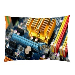 Technology Computer Chips Gigabyte Pillow Case (two Sides)