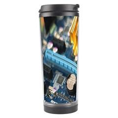 Technology Computer Chips Gigabyte Travel Tumbler