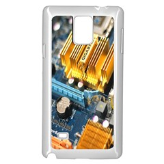 Technology Computer Chips Gigabyte Samsung Galaxy Note 4 Case (white)