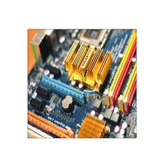 Technology Computer Chips Gigabyte Satin Bandana Scarf