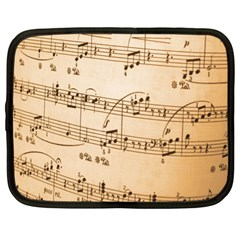 Music Notes Background Netbook Case (xl)