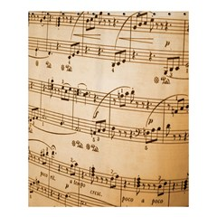Music Notes Background Shower Curtain 60  x 72  (Medium)