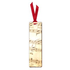 Music Notes Background Small Book Marks