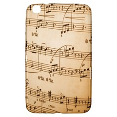 Music Notes Background Samsung Galaxy Tab 3 (8 ) T3100 Hardshell Case
