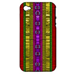 A Gift From The Rainbow In The Sky Apple Iphone 4/4s Hardshell Case (pc+silicone)