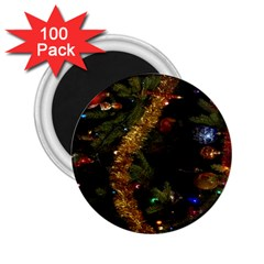 Night Xmas Decorations Lights  2.25  Magnets (100 pack)