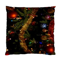 Night Xmas Decorations Lights  Standard Cushion Case (one Side)