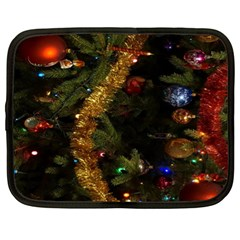 Night Xmas Decorations Lights  Netbook Case (XL)