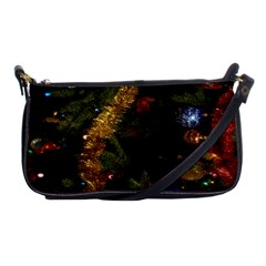 Night Xmas Decorations Lights  Shoulder Clutch Bags