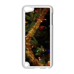 Night Xmas Decorations Lights  Apple Ipod Touch 5 Case (white)