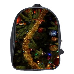 Night Xmas Decorations Lights  School Bags (xl)