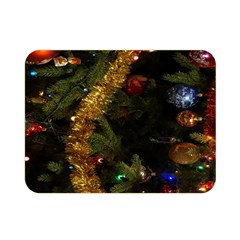 Night Xmas Decorations Lights  Double Sided Flano Blanket (Mini)