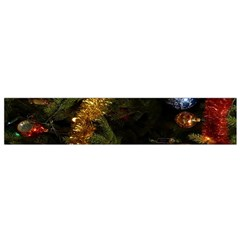Night Xmas Decorations Lights  Flano Scarf (Small)