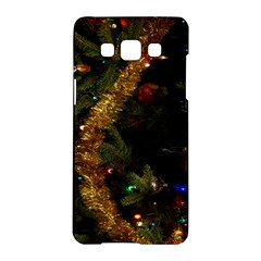 Night Xmas Decorations Lights  Samsung Galaxy A5 Hardshell Case
