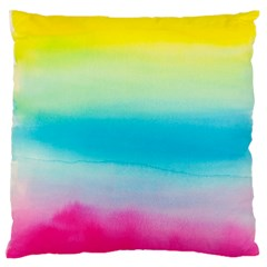 Watercolour Gradient Standard Flano Cushion Case (one Side)