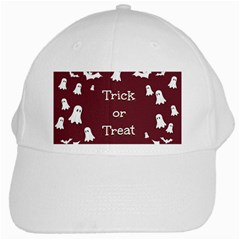 Halloween Free Card Trick Or Treat White Cap