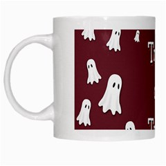 Halloween Free Card Trick Or Treat White Mugs