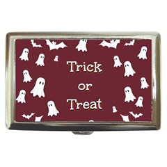 Halloween Free Card Trick Or Treat Cigarette Money Cases
