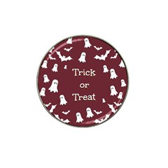 Halloween Free Card Trick Or Treat Hat Clip Ball Marker