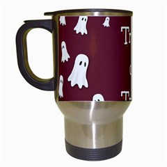 Halloween Free Card Trick Or Treat Travel Mugs (White)