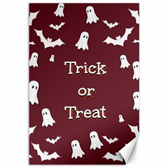 Halloween Free Card Trick Or Treat Canvas 12  x 18