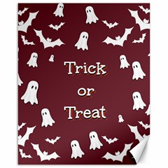 Halloween Free Card Trick Or Treat Canvas 16  x 20