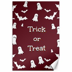 Halloween Free Card Trick Or Treat Canvas 20  X 30