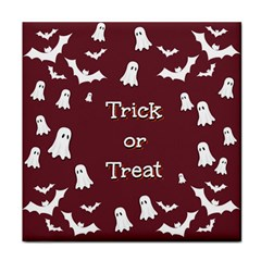 Halloween Free Card Trick Or Treat Face Towel