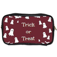 Halloween Free Card Trick Or Treat Toiletries Bags