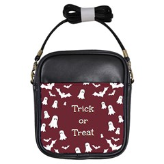 Halloween Free Card Trick Or Treat Girls Sling Bags