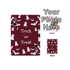 Halloween Free Card Trick Or Treat Playing Cards 54 (Mini)