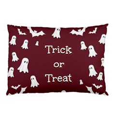 Halloween Free Card Trick Or Treat Pillow Case (Two Sides)
