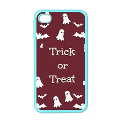 Halloween Free Card Trick Or Treat Apple iPhone 4 Case (Color)