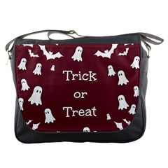 Halloween Free Card Trick Or Treat Messenger Bags