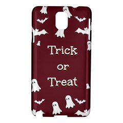 Halloween Free Card Trick Or Treat Samsung Galaxy Note 3 N9005 Hardshell Case
