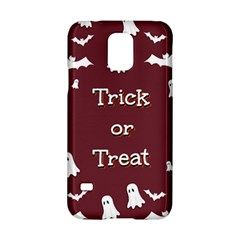 Halloween Free Card Trick Or Treat Samsung Galaxy S5 Hardshell Case
