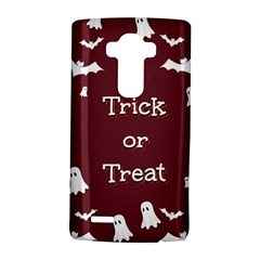Halloween Free Card Trick Or Treat LG G4 Hardshell Case