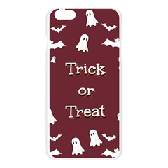Halloween Free Card Trick Or Treat Apple Seamless iPhone 6 Plus/6S Plus Case (Transparent)