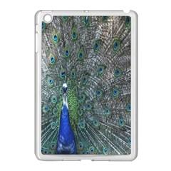 Peacock Four Spot Feather Bird Apple iPad Mini Case (White)
