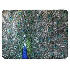 Peacock Four Spot Feather Bird Samsung Galaxy Tab 7  P1000 Flip Case