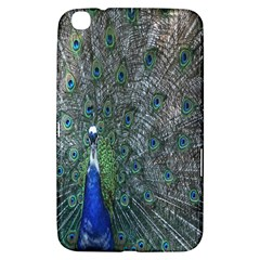 Peacock Four Spot Feather Bird Samsung Galaxy Tab 3 (8 ) T3100 Hardshell Case