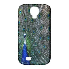 Peacock Four Spot Feather Bird Samsung Galaxy S4 Classic Hardshell Case (PC+Silicone)