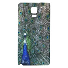 Peacock Four Spot Feather Bird Galaxy Note 4 Back Case